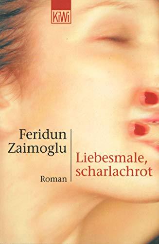 Liebesmale, scharlachrot: Roman
