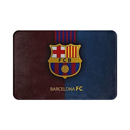 Alfombra de entrada estilo Barcelona FC para interior/puerta delantera/baño, cocina y sala de estar/dormitorio.