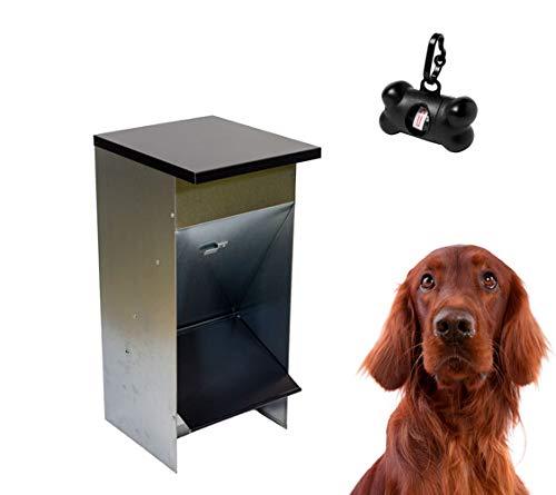 FINCA CASAREJO Comedero para Perros - Tolva Premium - Capacidad 30 litros - Regalo expendedor de bolsitas