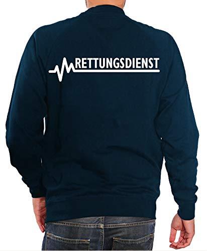 FEUER1 Sweatshirt Navy, Rettungsdienst M