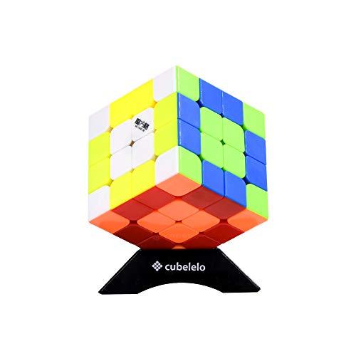 cubelelo QiYi WuQue Mini 4x4 Stickerless Speed Cube Puzzle Magic Cube Toy
