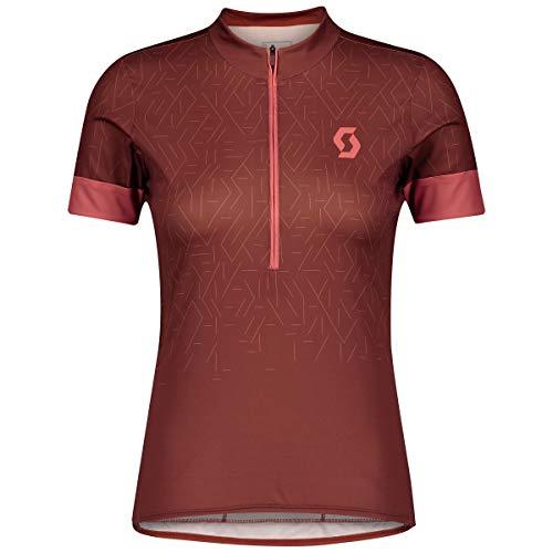 Scott Maillot de ciclismo para mujer Endurance 20, color rojo oxidado, talla...