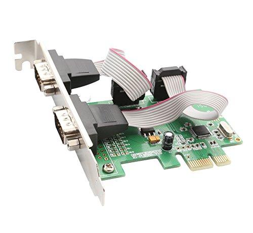 Syba - Tarjeta PCI Express Placa Perfil