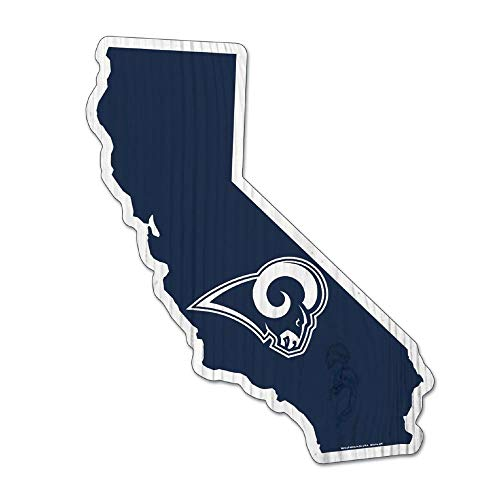 Wincraft NFL LOS Angeles RAMS State Wood Sign houten bord