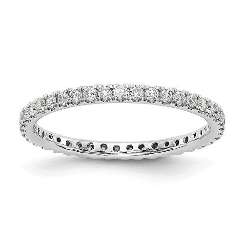 Ewigkeitsring Weißgold 14 Karat Diamant 0,52 Karat