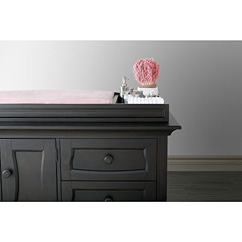 Eco Chic Baby Dorchester Changing Topper in Slate Finish by Eco Chic Baby