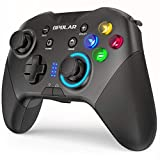 OPOLAR Wireless Bluetooth Gaming Controller for PC Windows 7 8 10/Nintendo Switch/Android 4.0 UP, Gamepad Joystick with 6-axis Gyro Motion Control, Dual Vibration, M Buttons, Turbo Function