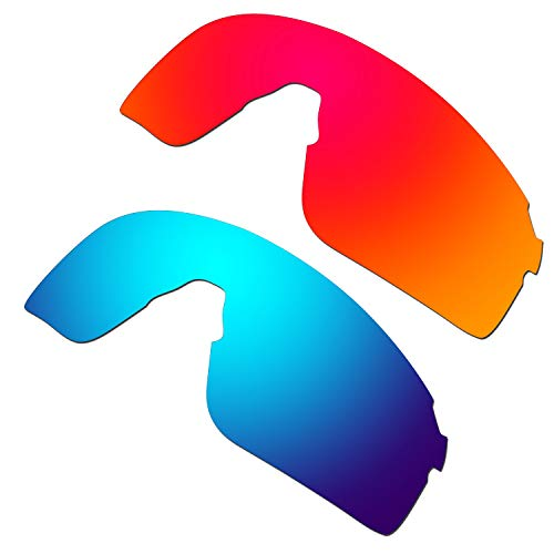 HKUCO Reinforce Replacement Lenses For EVZero Blades Red/Blue Sunglasses
