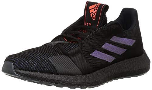 Adidas SENSEBOOST GO M, Zapatillas Running Hombre, Negro (Core Black/Boost Blue Violet Met./Legend Ink), 43 1/3 EU