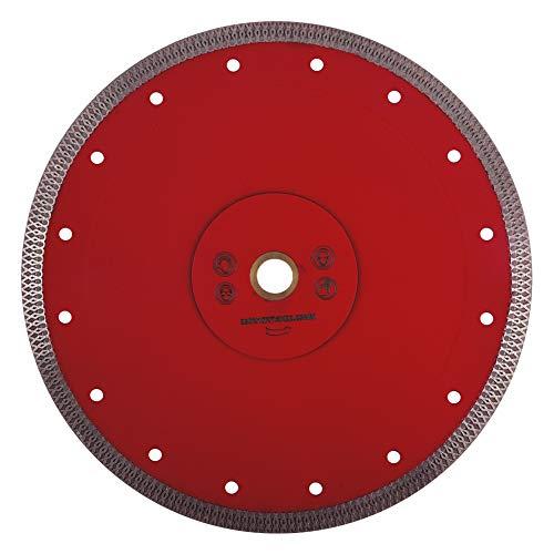 """GoYonder 9 """"D230mm Super Thin Diamond Saw Blade Hojas de corte de porcelana roja para cortar baldosas de mármol de cerámica"""