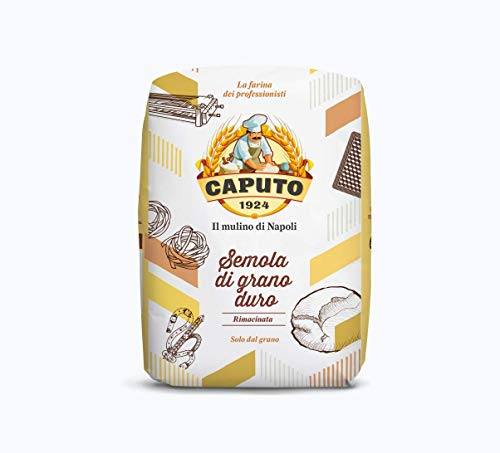 MOLINO CAPUTO Antico molino caputo semola de grano duro rimacinata 2 paquetes