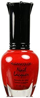 (3 Pack) KLEANCOLOR Nail Lacquer 2 - Red Alert (並行輸入品)