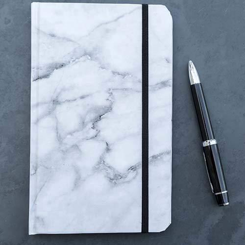 libreta de hojas blancas fabricante ROCK DESIGN