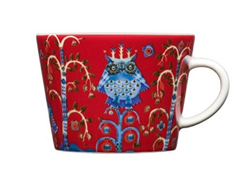 Iittala Taika 6-3/4-Ounce Capacity Coffee/Cappuccino Cup, Re