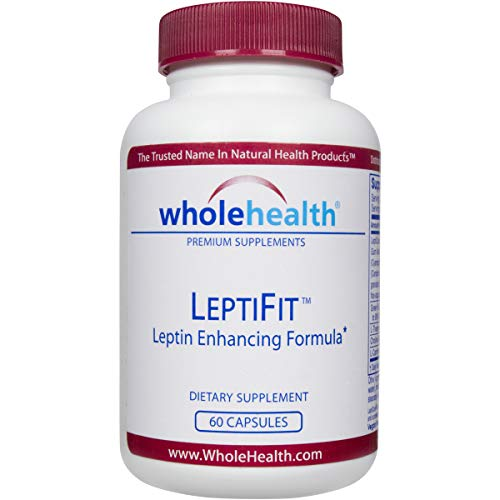 pure leptin supplements WholeHealth LeptiFit™ Natural Supplement (60 Caps) – with The Patented Ingredient LeptiCore® to Increase Satiety (The Feeling of Being Full) & Regulate Your Body's Leptin Levels!