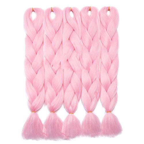 5 Packs Braids Extensions Flechten Hair Extensions Crochet Haar Kunsthaar Kanekalon Colorful 5pcs-24