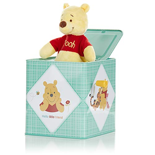 KIDS PREFERRED Disney Baby Winnie The Pooh Jack-in-The-Box - Musical Toy for Babies