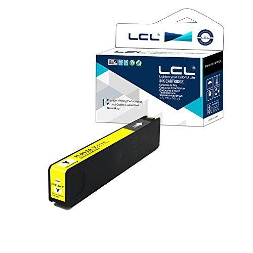 Chip Actualizado LCL Cartucho de Tinta Remanufacturado 913A F6T78AE (1 Amarillo) Reemplazo para HP PageWide 352dn/352dw/377dn/377dw PageWide Pro 452dw/452dn/477dw/477dn/552dw/577dw/z