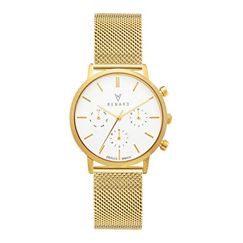 Renard Elite 35.5 Chronograaf horloge RB361YG60YG2