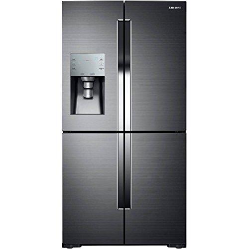 Samsung Fingerprint Resistant Black Stainless Steel 4-Door Flex Refrigerator