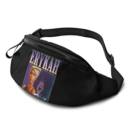 XCNGG Laufende Hüfttasche Freizeit Hüfttasche Hüfttasche Mode Hüfttasche Erykah Badu Unisex Running Waist Packs Casual Waist Bag Can Hold Small Objects Such As Mobile Phones