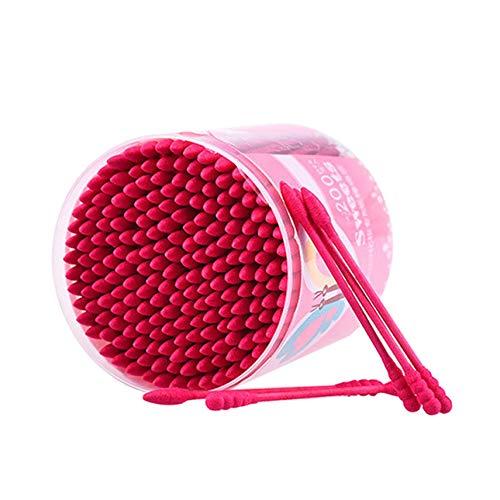 Ballylelly par Nanda 200pcs / boîte de coton à usage unique à double tête Swab terminé Maquillage coton Bud