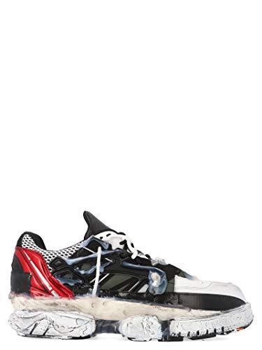 Maison Margiela Luxury Fashion Uomo S57WS0257P1878961 Nero Pelle Sneakers | Stagione Permanente
