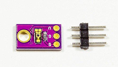 MissBirdler Mini Helligkeitsmesser Sensor TEMT6000 analog 14x9mm für Arduino Prototyping DIY
