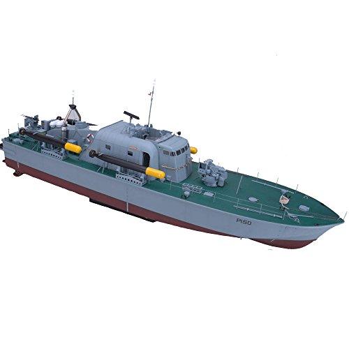 Arkmodel 1:32 Vosper Torpedo Boat Perkasa Warship Scale Model KIT [C7564K]