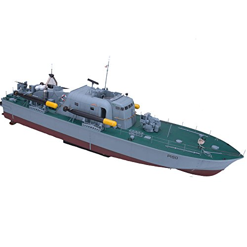ARKMODEL 1:32 Perkasa Boot Vosper Schnell Patrol Kit High Speed RC Segelboot