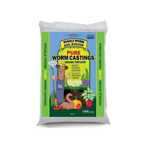 Worm Castings Organic Fertilizer, Wiggle Worm Soil Builder