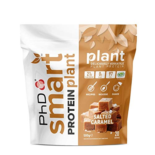 PhD Nutrition Smart Protein Plant Salted Caramel 20 Servings, 500 g
