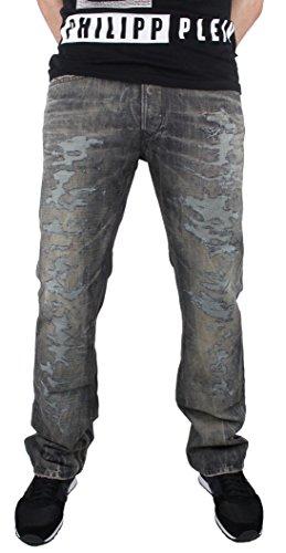 Diesel Viker-R-Box 0880Y Herren Jeans Blau