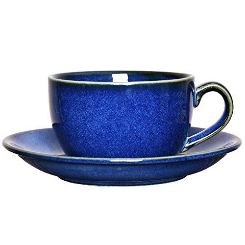 8.5 oz Coffee Cup Mug with Saucer