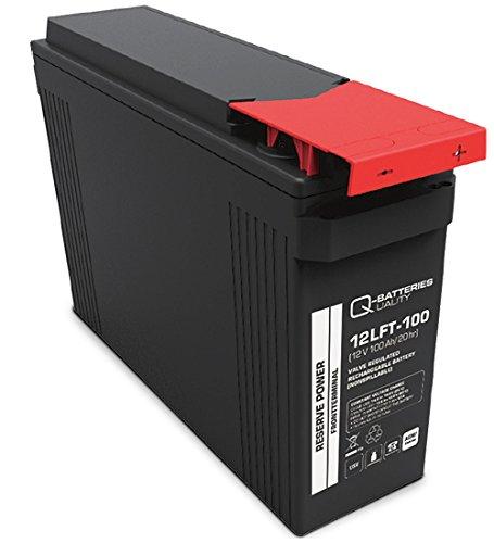 Q-Batteries by Narada 12NDT100S / 12V 100Ah frontterminal lood accu/lood vlies-accu VRLA 12-100F