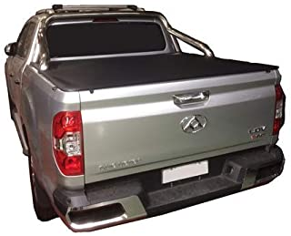 LDV T60 Dual Cab 2017 to Current - Over Rail Liner must be removed, Sports Bar Clip On Ute Tonneau Cover. Tuff Tonneaus Ut...