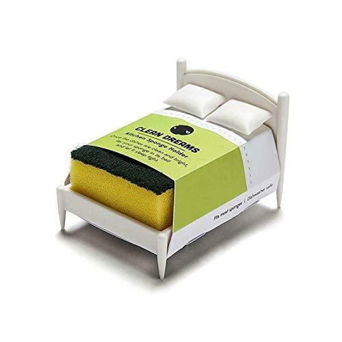 Kitchen Sponge Holder Sponge Washer Bed Shelf, Innovative Sink Storage Rack, Kitchen Sponge Holder Sponge Washer Bed Shelf, Innovative Sink Storage Rack (1pc)