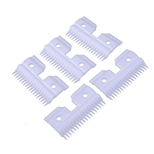 eastar 5x 18 tanden keramische messen passen voor A5 serie huisdier Clipper