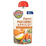 Earth's Best Organic Stage 3 Baby Food, Pear Carrot Apricot,...