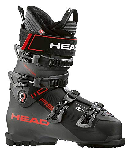 HEAD Herren Vector 110 RS Skischuhe, Black-Anthracite-red, 28.0 | EU 44