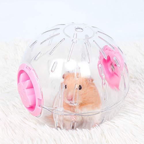 Hamster Exercise Ball,Palla per Esercizio Mini Corsa Sana e sicura Palla per Criceto Jogging Ball per Criceti & Roditori da Esercizio per Piccoli Animali Legare Il Giocattolo per Correre in plastica