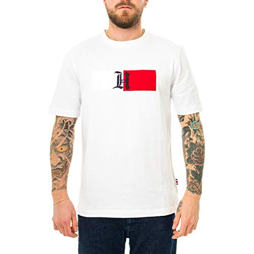 Tommy Hilfiger Original Jersey Maglietta Medium Uomo Classic White 100 Bianco