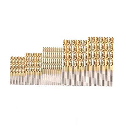 xiaocheng 1set (50pcs) Beruf Bohrer Set High Speed ??Steel Mini-Bohrer Für Stahl Holz Kunststoff Aluminium-Legierung (1.0-3.0mm)