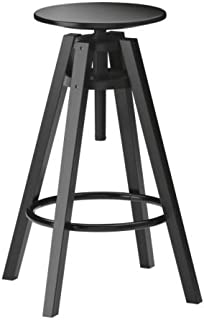 IKEA DALFRED Bar stool, black