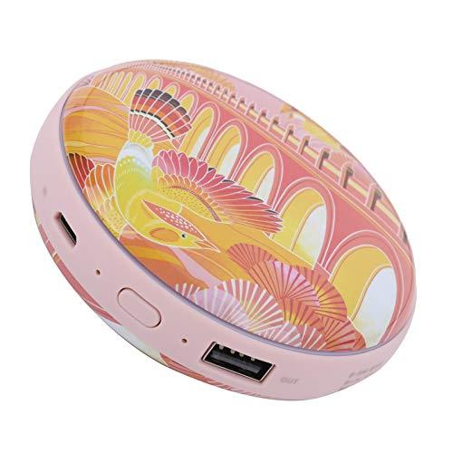 Banco de energía Calentador de manos Calentador de manos Calentador de manos portátil Calentador de manos 2 en 1 Carga USB Regalos de invierno para invierno frío(Pájaro dorado, vuelo, arco iris)