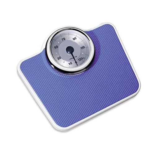 PèSe-Personne MéCanique - Balance RéTro-PréCise, Cadran Analogique Facile à Lire, Plate-Forme en MéTal Robuste, Pesant Jusqu'à 160 Kg, sans Boutons Ni Piles