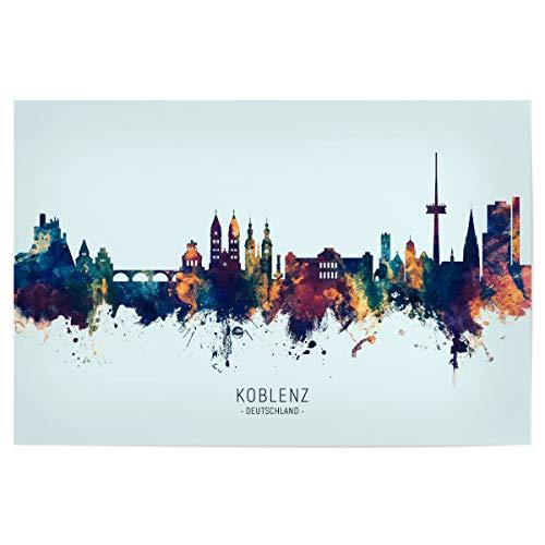 artboxONE Poster 75x50 cm Städte...