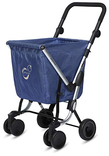 Playmarket Carro de la compra We Go Basic, 97 cm, 50 Litros, Navy