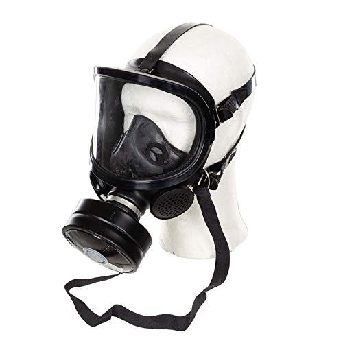 Maske Fernez Neuwertig Filter OVP Schutzmaske Maske Armee Atem Notfall #34071