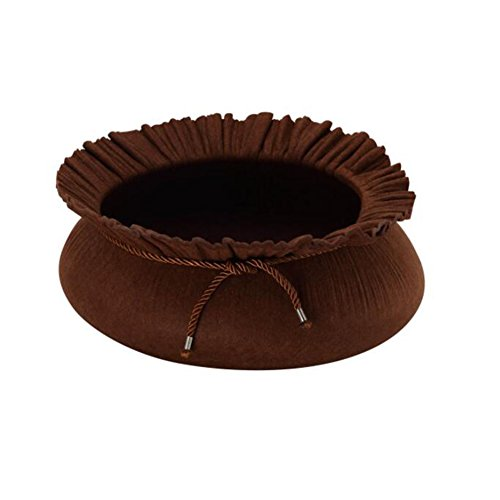 MRXUE Lotus Ronde Kattennest Teddy Nest Geïsoleerd Warm Wasbaar Hondenhok